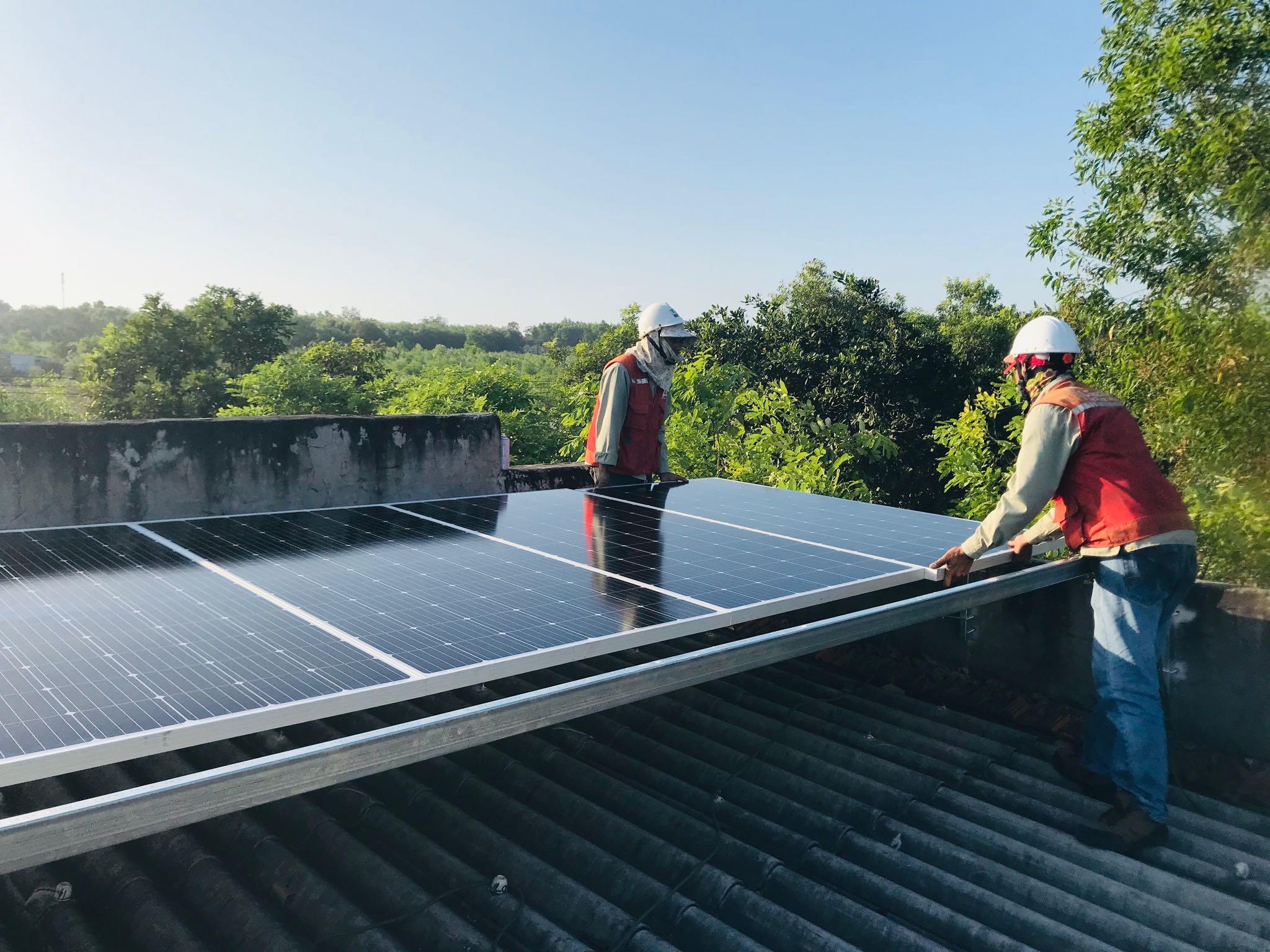 Điện mặt trời hoà lưới Hệ 3.3kWP